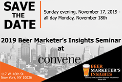2019 Beer Marketer's Insights Seminar